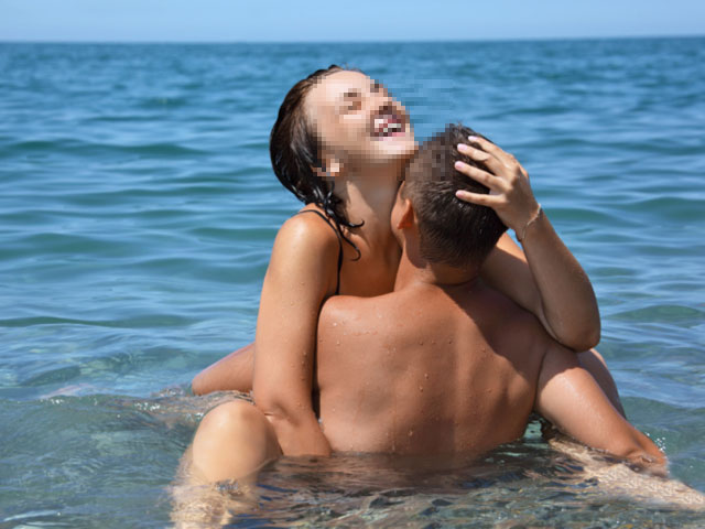 Секс на пляже с девкой фото 176-599